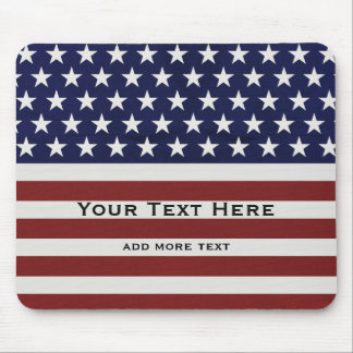 Mousepad EUA bandeira americana costume patriótico do 4 de