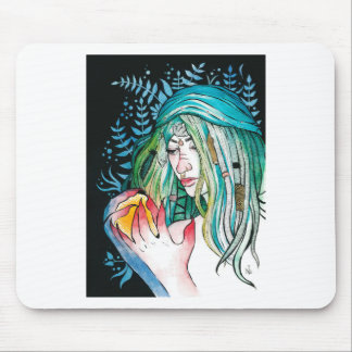 Mousepad Evergreen - retrato da aguarela