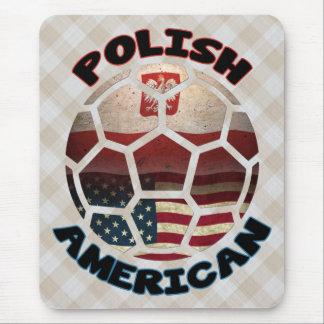 Mousepad Fã de futebol americano polonês Mousemat