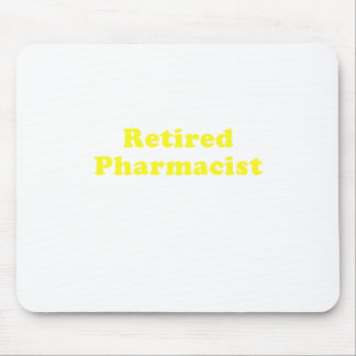 Mousepad Farmacêutico aposentado