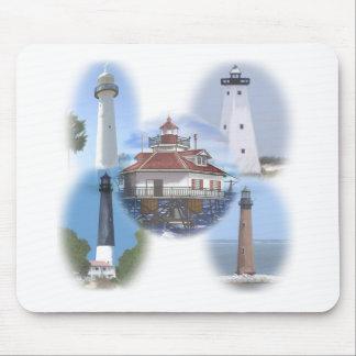 Mousepad Faróis da costa do golfo