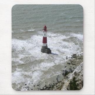 Mousepad Farol fora da cabeça Beachy, Sussex do leste