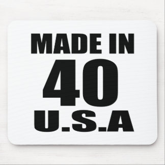 MOUSEPAD FEITO EM 40 DESIGNS DO ANIVERSÁRIO DOS EUA