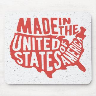 Mousepad Feito na tipografia dos Estados Unidos da América