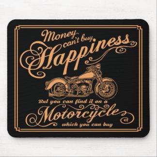 Mousepad Felicidade - motocicleta
