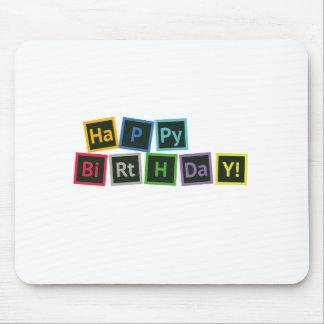 Mousepad Feliz aniversario periódico