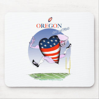 Mousepad fernandes tony altos e orgulhosos de oregon,
