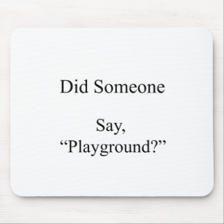 Mousepad Fez alguém para dizer, campo de jogos