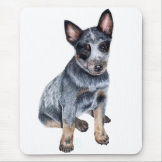 Mousepad Filhote de cachorro australiano do cão do gado
