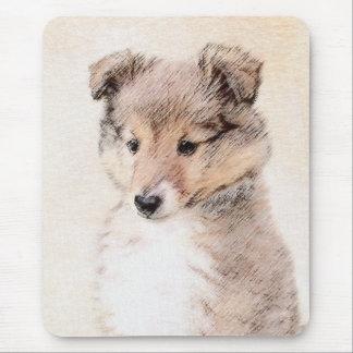 Mousepad Filhote de cachorro do Sheepdog de Shetland que
