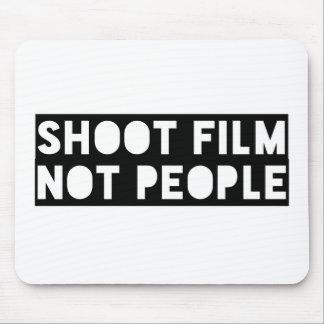 Mousepad Filme do tiro, não pessoas!