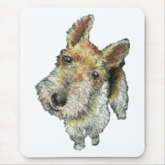 Mousepad Fio-de cabelo-raposa-Terrier