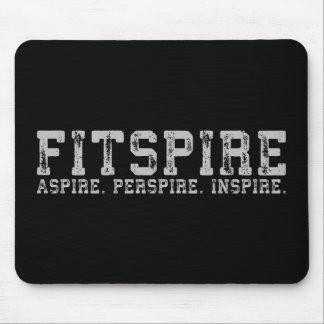 Mousepad Fitspire - aspire, sue, inspire - exercício