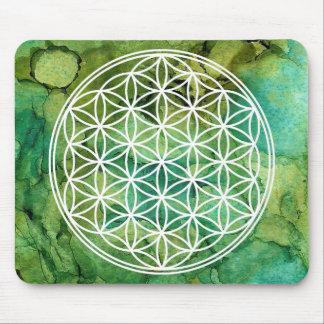 Mousepad Flor da geometria sagrado da mandala da vida