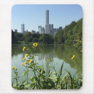 Mousepad Flor da skyline da Nova Iorque NYC do lago central