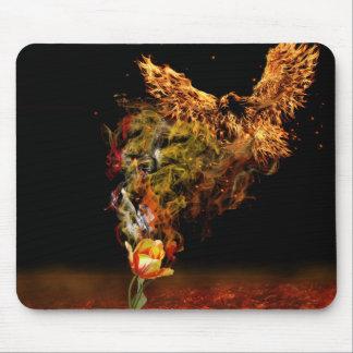 Mousepad Flor de Phoenix