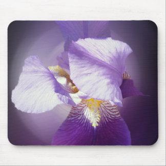 Mousepad flor roxa da íris