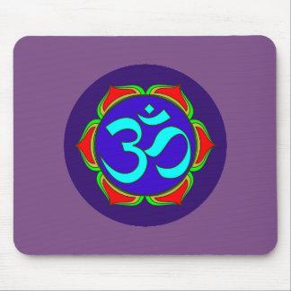 Mousepad flor sagrado da ioga do zen da religião do budismo
