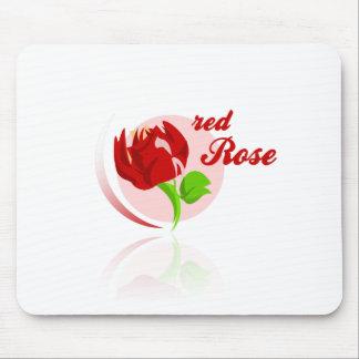 Mousepad Flor vermelha dos inimigos