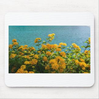 Mousepad flores amarelas para o bom humor diário