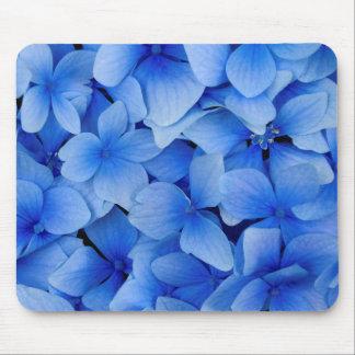 Mousepad Flores azuis do Hydrangea