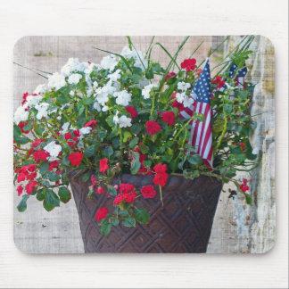Mousepad Flores & bandeiras