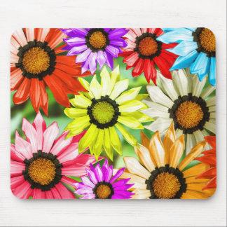 Mousepad Flores coloridas do Gerbera