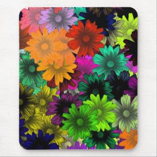 Mousepad Flores do vitral