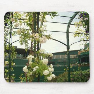 Mousepad Flores no tapete do rato de Wimbledon