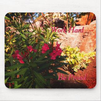 Mousepad Flores tropicais
