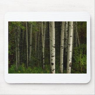 Mousepad Floresta branca