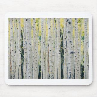 Mousepad Floresta dos álamos tremedores - pintada