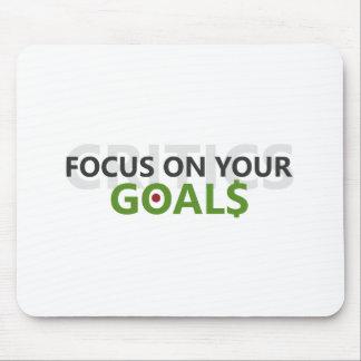Mousepad Foco em seus objetivos