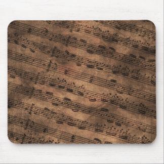 Mousepad Folha de música antiga Mousemat