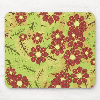 Mousepad Folha e flores