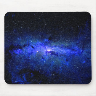Mousepad Foto do espaço da galáxia da Via Láctea
