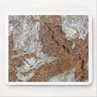 Mousepad Foto macro da superfície do pão de mistura de Ger