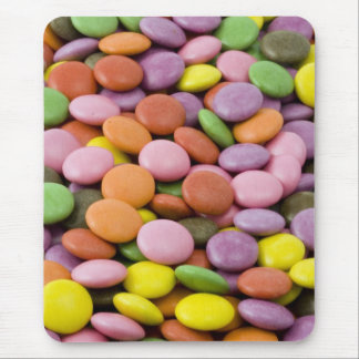 Mousepad Fotografia dos doces de açúcar do arco-íris