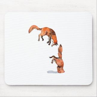 Mousepad Fox vermelho de salto