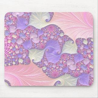 Mousepad Fractal brilhante dos Pastels