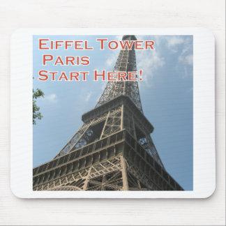 Mousepad Francês do verão 2016 de Paris France da torre