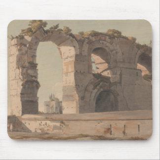 Mousepad Francis Towne - o Claudian Aquaduct, Roma