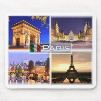 Mousepad Franco France - Paris em a noite - Arco do Triunfo