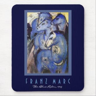 Mousepad Franz Marc - cavaleiro azul - arte do