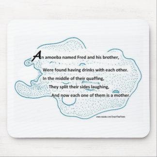 Mousepad Fred a ameba - um poema da ciência de