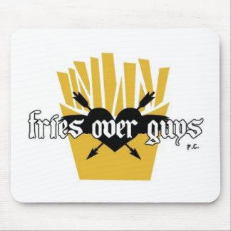 Mousepad Fritadas sobre o slogan das caras