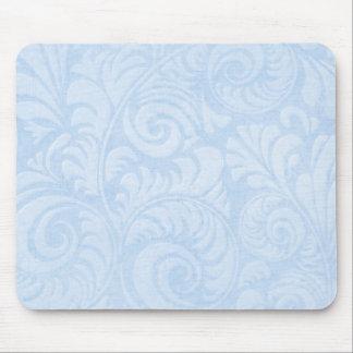 Mousepad Frondas Mousemat da palma no azul
