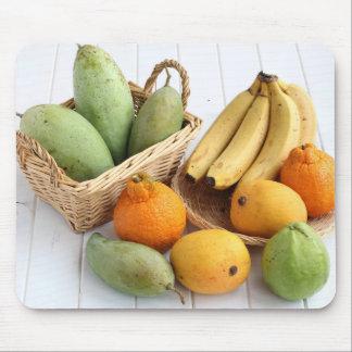 Mousepad Frutas tropicais