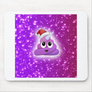 Mousepad Fulgor bonito de Emoji do tombadilho do unicórnio