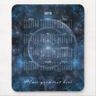 Mousepad Fundo 001 do cosmos - calendário 2018